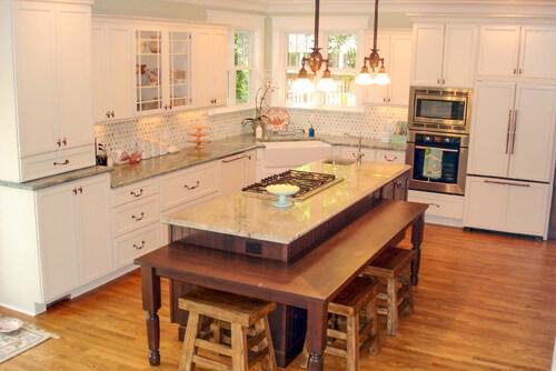 Dura Supreme Cabinetry Kitchen by West Chester Kitchen & Bath Designers Essence Design Studios