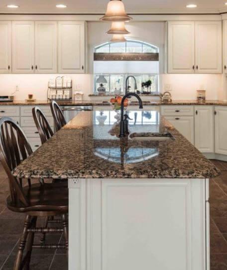 Dura Supreme Cabinetry, design by Dimitri Ganas of Swartz Kitchen and Bath in Philadelphia