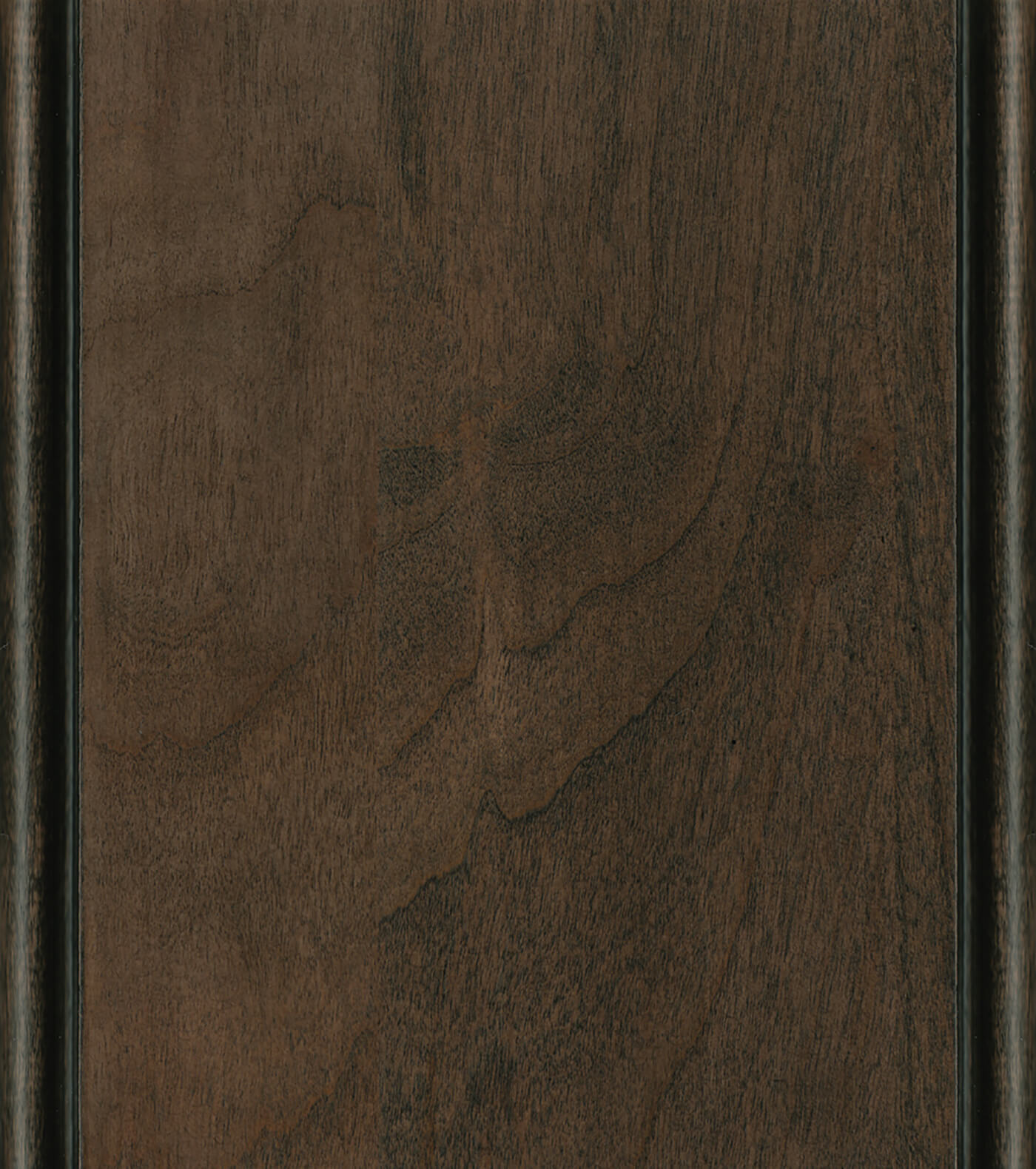 Morel / Charcoal Glaze Stain/Glaze on Cherry